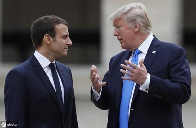 """从""""北约正在经历脑死亡""""到""""西方霸权已近末日""""马克龙是要扛起反美大旗?"""
