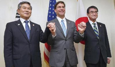 韩日《军事情报保护协定》即将失效,美日韩防长磋商做最后的挽救仍无果而终