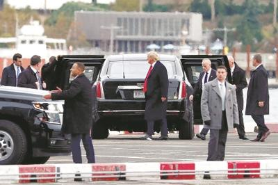 """特朗普""""偷偷""""体检,被称""""不合常规""""-白宫称总统一如既往健康充满活力,提前体检是因为预期明年非常忙"""