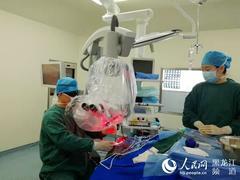 黑龙江省医院引进光动力疗法降低脑胶质瘤患者复发率