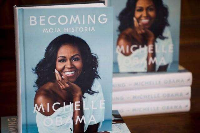 凭这本自传,美国前第一夫人米歇尔·奥巴马获格莱美提名