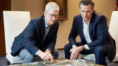 特朗普坐不住了?他问蒂姆·库克:苹果能否参与美国5G网络建设?