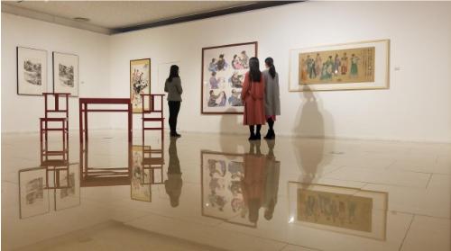 """天桥艺术中心""""画里有戏"""" 国戏师生用新媒体探索戏曲之美"""