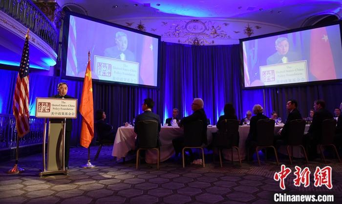 中国驻美公使李克新:中美需要高质量的沟通对话