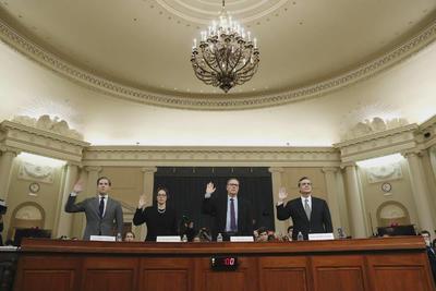 通乌门  美众院传召4名宪法专家作证3人同意有理据弹劾特朗普