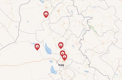 驻伊美军基地遭到火箭炮袭击,造成6名伊拉克士兵受伤