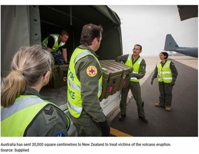 新西兰火山重伤者急需换肤,救命资源捐献全球紧缺