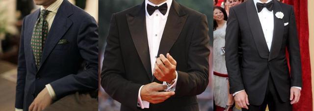 经常穿西服的人还不知道自己适合什么领形?