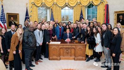 弹劾案前 白宫邀请全美著名信仰领袖们为特朗普祈祷