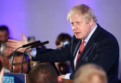 """保守党在英国大选中完胜 首相约翰逊:明年1月底实现""""脱欧"""""""