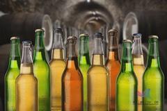 为什么啤酒瓶大多是绿色的,不能做成透明的吗?