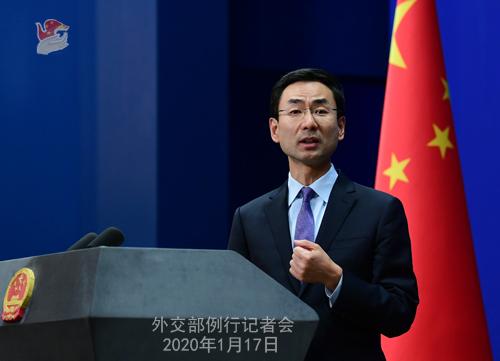 外交部回应美军舰穿越台湾海峡:全程掌握