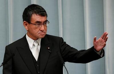 """河野太郎称钓鱼岛是""""日本岛屿"""",呼吁美日同盟阻止武力夺岛"""