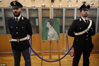 奥地利4.5亿名画消失23年后被找到 真相大跌眼镜