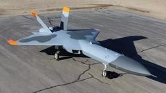 """美国""""模拟歼-20""""即将首飞,未来将充当靶机"""