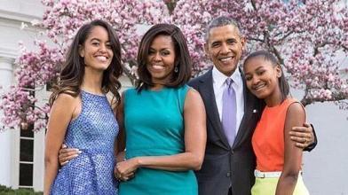"""奥巴马夫妇的""""别样""""育儿经"""