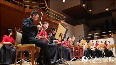 2020年中国新年音乐会奏响西班牙国家音乐厅