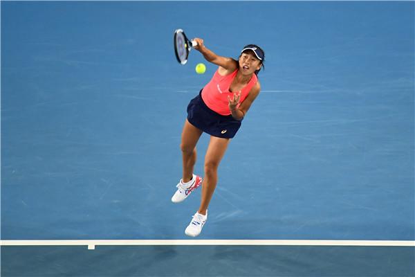 张帅澳网痛失好局 首盘5比2领先遭逆袭止步女单第三轮