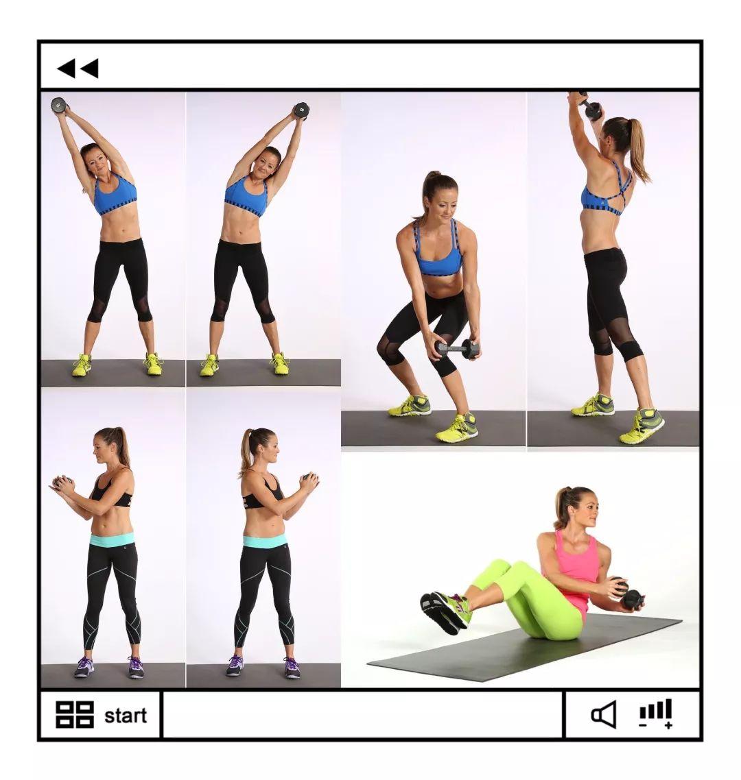4 个最流行的腹肌动作,会把腰练粗
