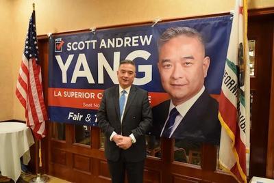 杨明俊竞选洛郡高等法院法官 圣盖博拜票