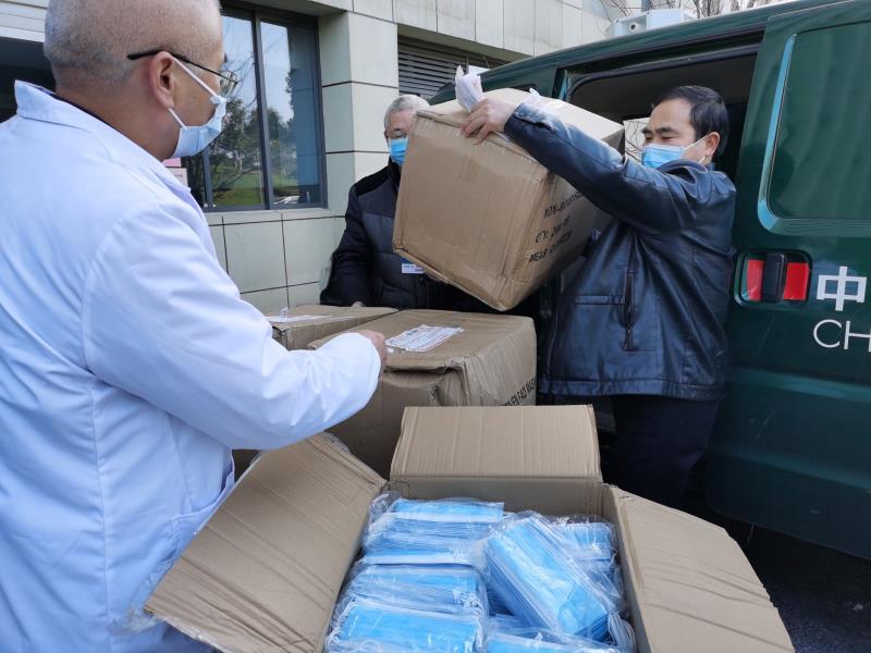 为防疫物资搭建绿色通道——江西邮政抗击疫情保畅通纪实