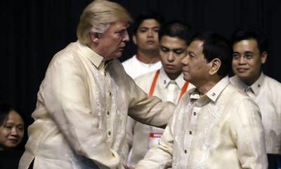 杜特尔特终止《来访部队协议》,美军失去自由进出菲律宾特权