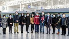 上海市疾控系统两名消毒专家昨驰援武汉