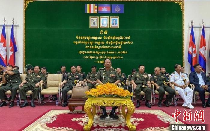 柬国防部向中国捐赠物资抗击疫情