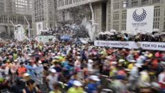 六成日本民众呼吁取消奥运 马拉松等聚集性活动纷纷取消