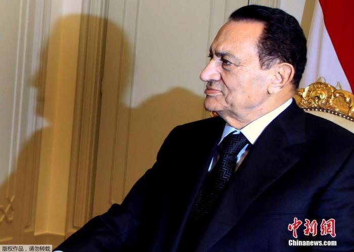 埃及前总统胡斯尼·穆巴拉克去世 终年91岁