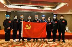 """上海援鄂医疗队9名队员""""火线""""入党:特殊战场,淬炼灵魂!"""