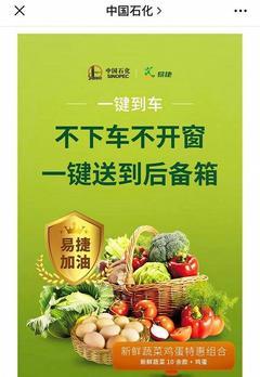诞生即巨头:中石化正式卖菜,一铺开就是全国第一