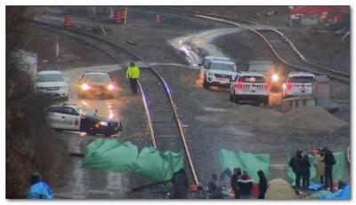 进出多伦多的GO火车因示威者瘫痪