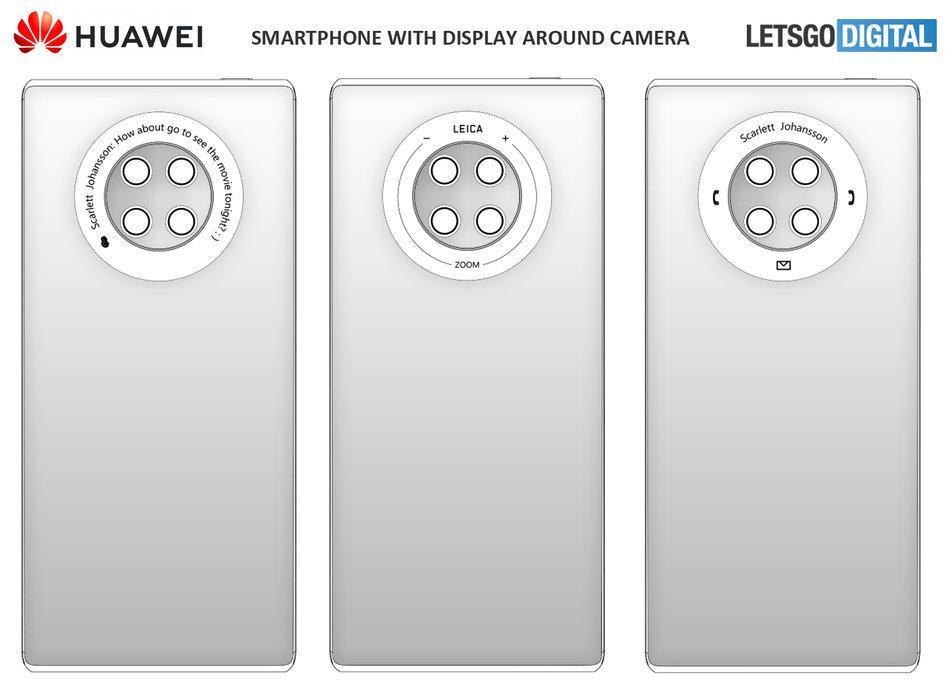 华为新专利脑洞大开,手机背后加按键?