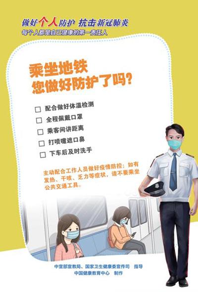 抗击新冠肺炎!去这些场所您做好防护了吗?