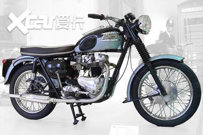 继承摩托车最初样貌 英伦古典凯旋T120