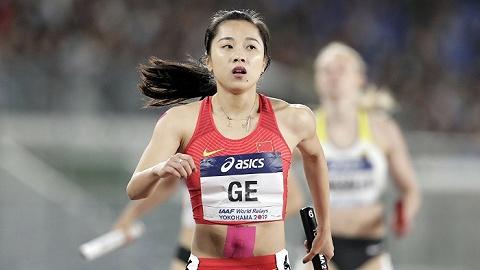 """200米跑出22年最佳战绩,""""女版刘翔""""葛曼棋要当亚洲最快"""