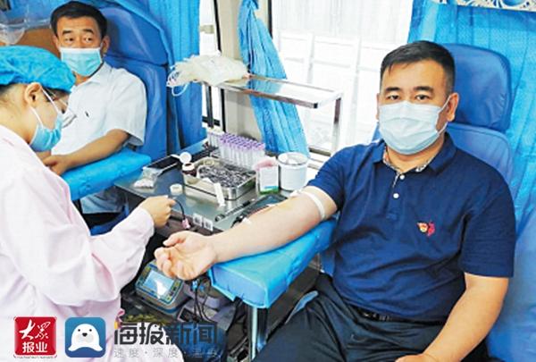 """""""热血""""战疫 滨州市住建局160余名党员义务献血"""