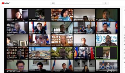 中国—东盟关系雅加达论坛2020年首场活动聚焦双边抗疫合作