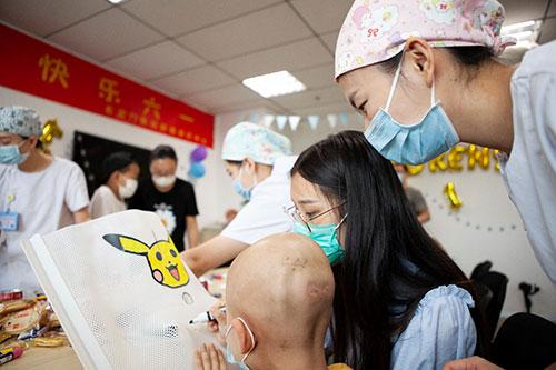 北京丰台右安门医院肿瘤诊疗中心:儿童节,特别的爱给特别的儿童