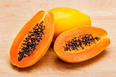 大众化水果木瓜,香甜可口入药有解酒之效