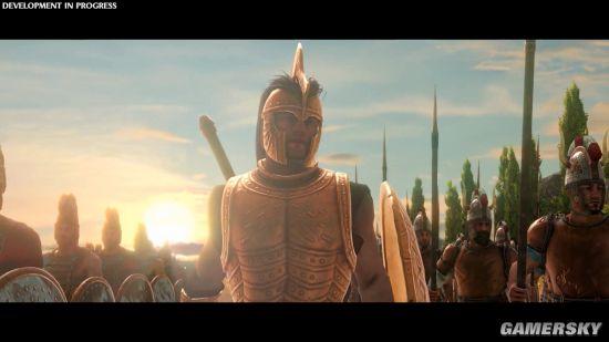 《全面战争传奇:特洛伊》实机演示 阿基里斯对战赫克托耳
