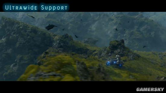 PC《死亡搁浅》超宽屏新演示 不只是单纯的画面扩大