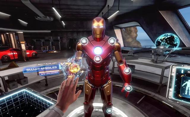 """""""我不是钢铁侠。""""《钢铁侠》VR启动需要1分钟,是不是早挂了"""