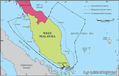 马来西亚海洋权利主张