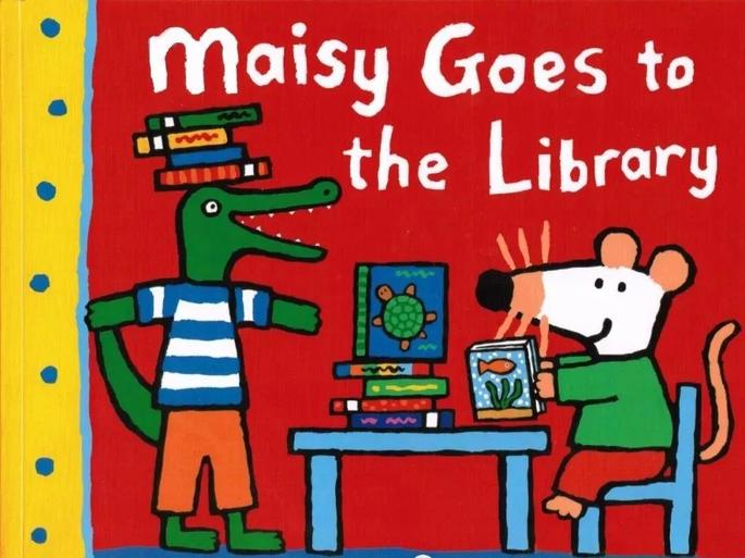Maisy Goes to the Library 小鼠波波去图书馆