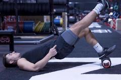 单腿臀桥锻炼哪里的位置