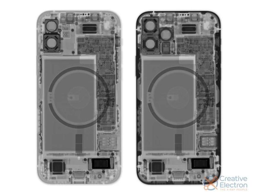iPhone 12两款机型拆解:用料基本无差距