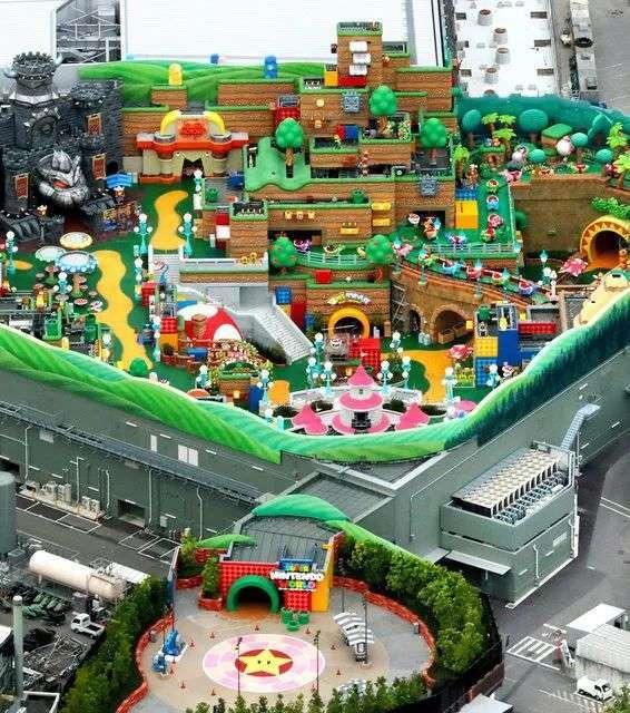 全球首家任天堂主题乐园即将开幕,能玩真人版马里奥