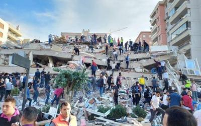 希腊群岛地震已造成土耳其4人死亡 上百人受伤